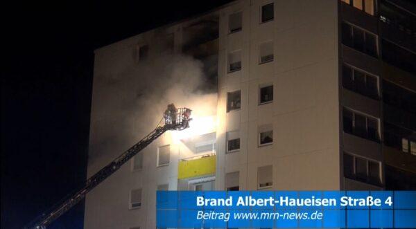 Frankenthal – 1. NACHTRAG – Wohnungsbrand in Frankenthal – Brandursache kann verschiedene Gründe haben