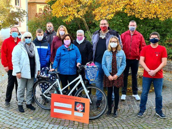 Schifferstadt – STADTRADLER spenden – Bürgermeisterin rundet auf!