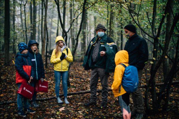 Heidelberg – Walderlebnistag! Oberbürgermeister Prof. Dr. Eckart Würzner erkundete mit Schülern den Stadtwald