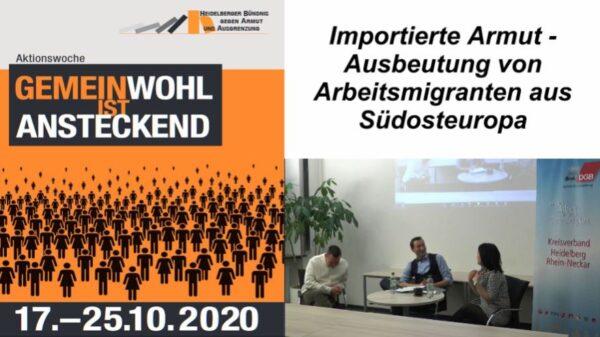 Metropolregion Rhein-Neckar – Ausbeutung von südosteuropäischen Arbeitskräften – VIDEO