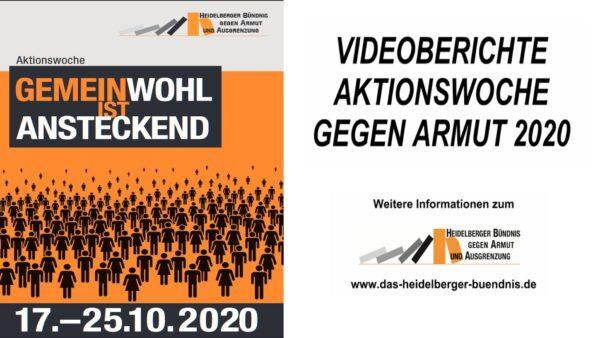Alle VIDEOS der Aktionswoche gegen Armut des Heidelberger Bündnis gegen Armut und Ausgrenzung