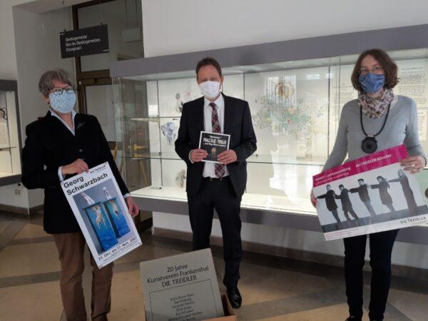 Frankenthal – Nach Auflösung: Kunstverein DIE TREIDLER übergibt Unterlagen ans Stadtarchiv