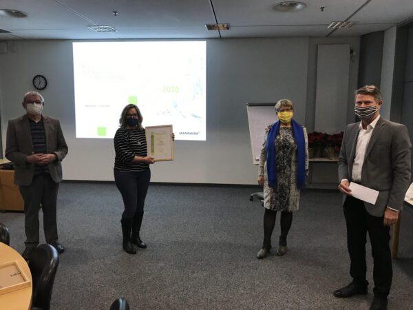 Mannheim – Preise für Kleingartenvereine