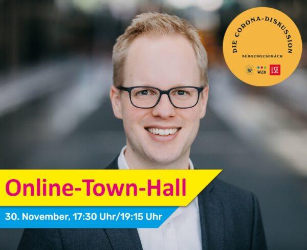 Wiesloch – Online-Town-Hall: Die Corona-Diskussion  Jens Brandenburg im digitalen Bürgerdialog