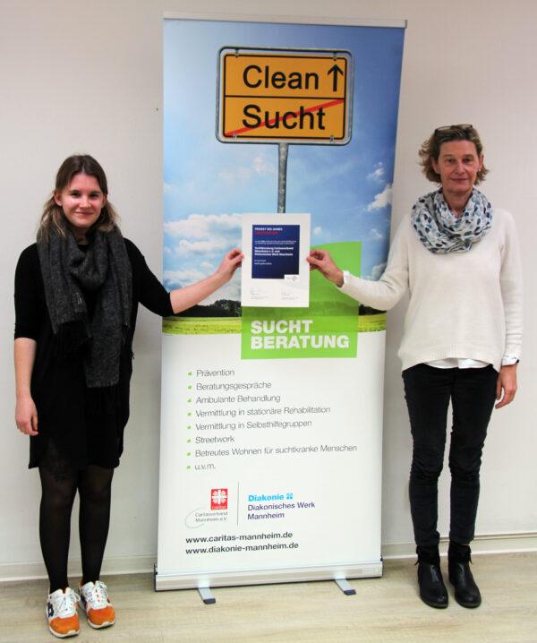 Mannheim – FUCHS-Förderpreis für den Aufbau einer Online-Suchtberatung! Angebot von Caritas und Diakonie als Innovationsprojekt des Jahres ausgezeichnet