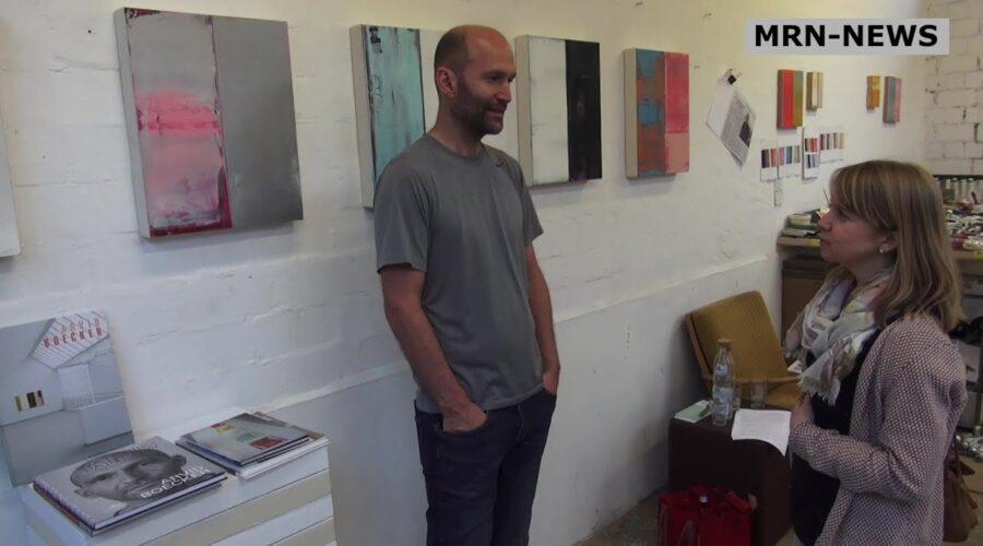Heidelberg – Malerei und Skulptur! Werke von Arvid Boecker und Keizo Sugitani in der Galerie Marianne Heller