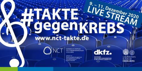 """Heidelberg – NCT Hauskonzerte """"Takte gegen Krebs"""": Weihnachtsstimmung für zuhause"""