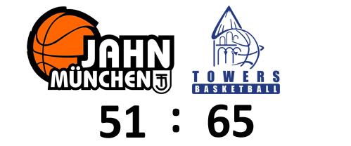 Schifferstadt – TOWERS gewinnen verdient und souverän in München (51:65)