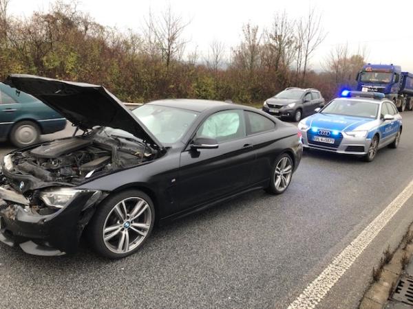 Edenkoben – A65 – Vollsperrung nach Unfall – 3 Personen verletzt