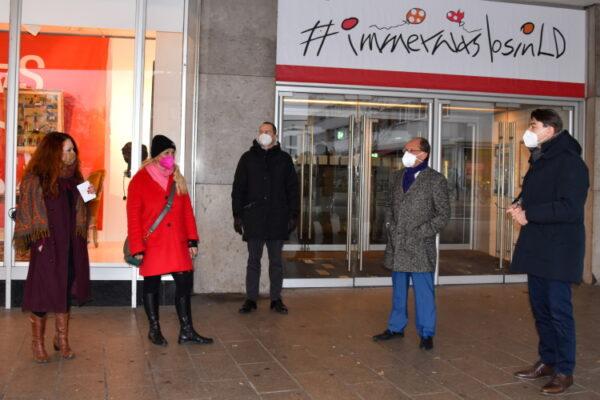 Landau – Kunst im Vorübergehen – Stadt und Universität Landau eröffnen Pop-up-Galerie in ehemaligem Kaufhof-Gebäude