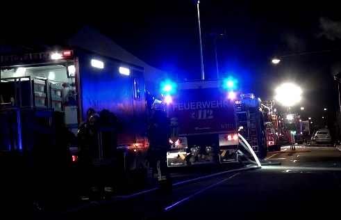 Ludwigshafen – Feuerwehreinsatz in der Speyerer Straße