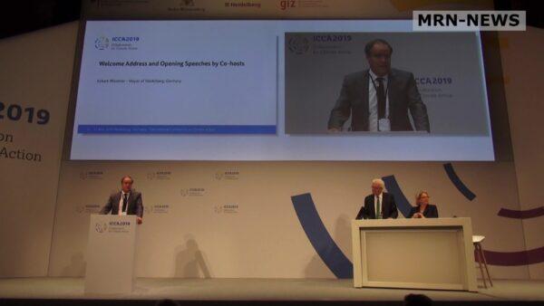 Heidelberg – Pariser Klimaschutzabkommen: Prof. Dr. Eckart Würzner begrüßt den Wiedereinstieg der USA