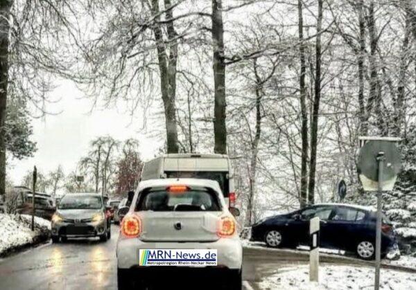 Heidelberg – Reges Besucheraufkommen in den Höhenlagen nach ergiebigen Schneefällen