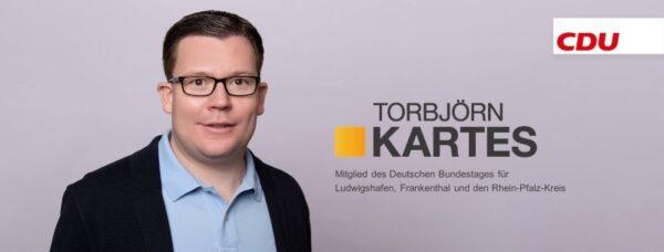 """Ludwigshafen – Torbjörn Kartes MdB: """"Ich gratuliere Armin Laschet herzlich zur Wahl zum CDU-Parteivorsitzenden"""""""