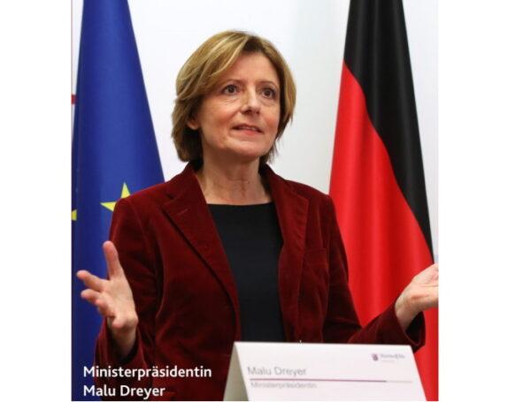 Mainz –  Regierungserklärung von Ministerpräsidentin Malu Dreyer : Schützen und unterstützen – gemeinsam die Pandemie überwinden