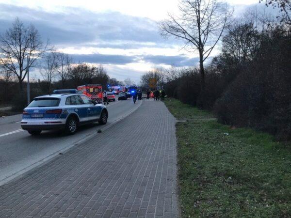 Ludwigshafen – ERSTMELDUNG: Schwerer Unfall – L530 zwischen  Maudach und Mutterstadt aktuell voll gesperrt