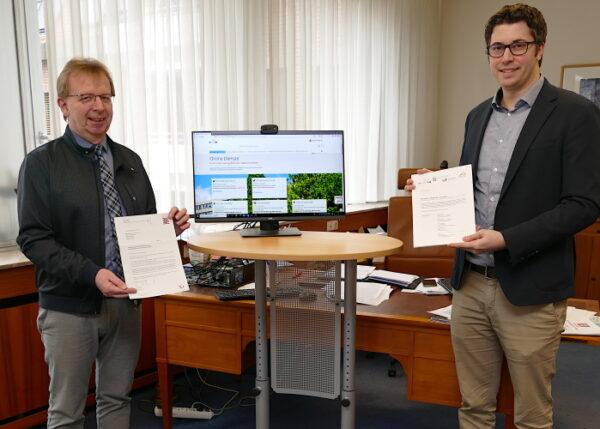 Viernheim – Innenminister macht Viernheim zur Modellkommune – Onlinezugangsgesetz fordert die Städte bei der Verwaltungsdigitalisierung heraus