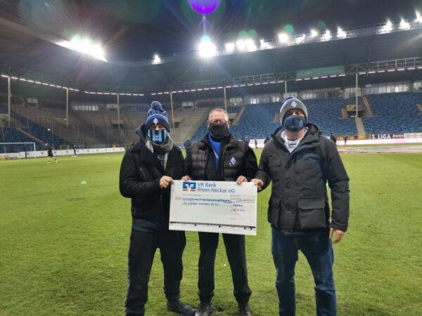 Mannheim – Familie Beetz spendet 55.613,41€ an den SV Waldhof Mannheim 07 e.V.