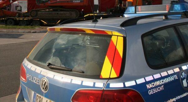 Ladenburg – Sprengung eines Geldautomaten – Täter auf der Flucht – 50.000 Euro Sachschaden