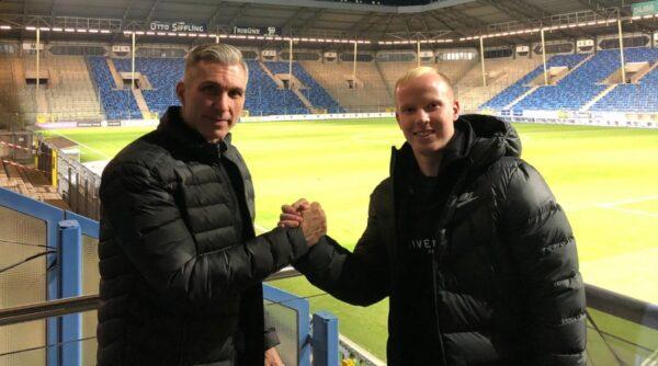Mannheim – Fußball 3. Liga – Dennis Jastrzembski beim SV Waldhof unter Vertrag