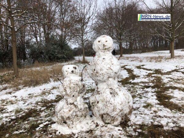 Ludwigshafen – Winterliches Wetter lockte viele ins Maudacher Bruch