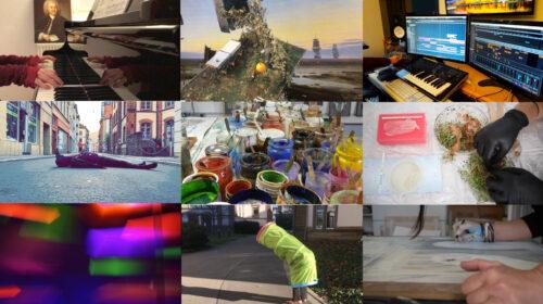 """Heidelberg – """"Auftakt Kunst!"""" zeigt Werke von Heidelberger Künstlerinnen und Künstlern – 100 Kurzfilme ab 23. Januar verfügbar"""