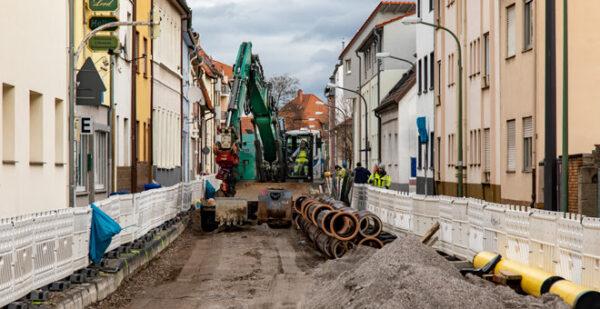 Ludwigshafen – Neue Bauphase für Linie 10 beginnt – Bauende bereits im Frühjahr 2022