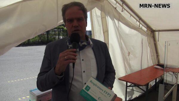 """Heidelberg – Ein Jahr mit Corona: Heidelberg geht als solidarische Stadtgesellschaft durch die Krise  Oberbürgermeister Prof. Dr. Eckart  Würzner: """"Zusammenhalt ist enorm!"""""""
