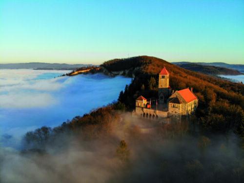 Weinheim – Rauf auf den Burgensteig! Sportliches Wandern an der Bergstraße und gewinnen von März bis Oktober – 25 Anlaufstellen mit QR-Codes