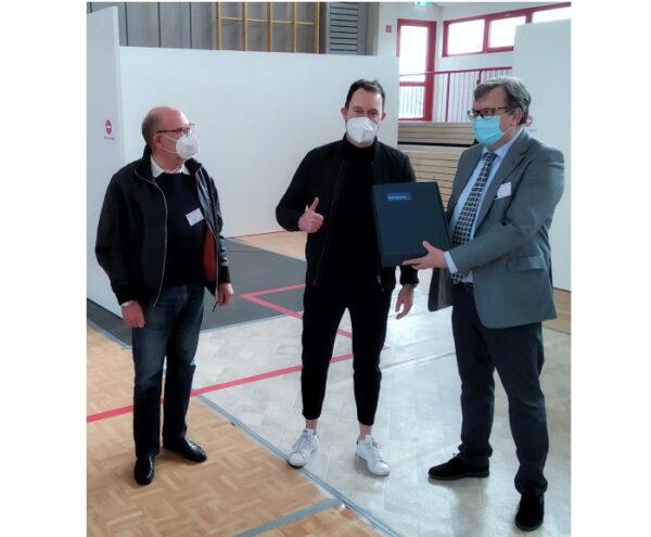 Rhein-Pfalz-Kreis – Impfzentrum Schifferstadt führte 5.000. Impfung druch