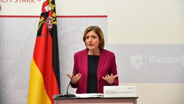 Ludwigshafen –  Nach der Bund-Länder-Schalte – Ministerpräsidentin Malu Dreyer: Mit Testen und Impfen in behutsamen Schritten aus dem Shutdown