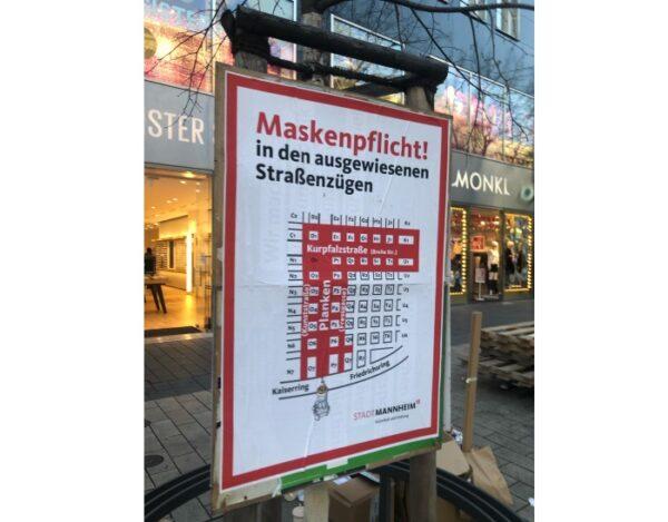 Mannheim – Aktuelles zu Corona – Inzidenzzahl 71,1 – Impftermine