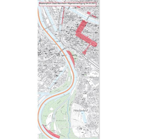 Mannheim – Stadt Mannheim erlässt neue Allgemeinverfügung gültig ab 05.März  – Inzidenzzahl steigt rasant: 90,2 – Strenge Maskenpflicht