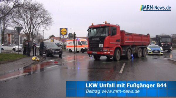 Ludwigshafen – VIDEO NACHTRAG – Schwerer Unfall Kreuzung Kaiserwörthdamm / Wegelnburgstraße