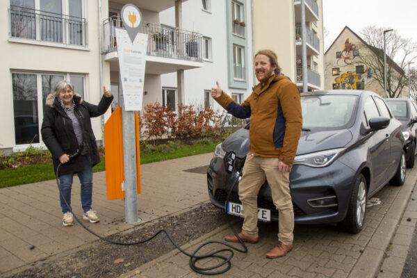 Heidelberg – Fünf neue E-Ladestationen der Heidelberger Energiegenossenschaft in Betrieb! Insgesamt über 100 Ladepunkte im Stadtgebiet