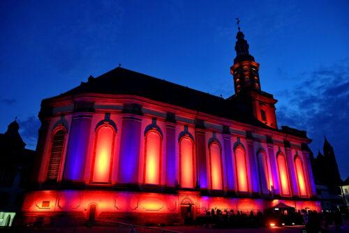 """Worms – Der """"Luther-Moment"""": Evangelische Kirche feiert 500 Jahre Reichstag in Worms multimedial- Riesen-Inszenierung wird Samstag ab 22.35 Uhr live im SWR-Fernsehen übertragen"""