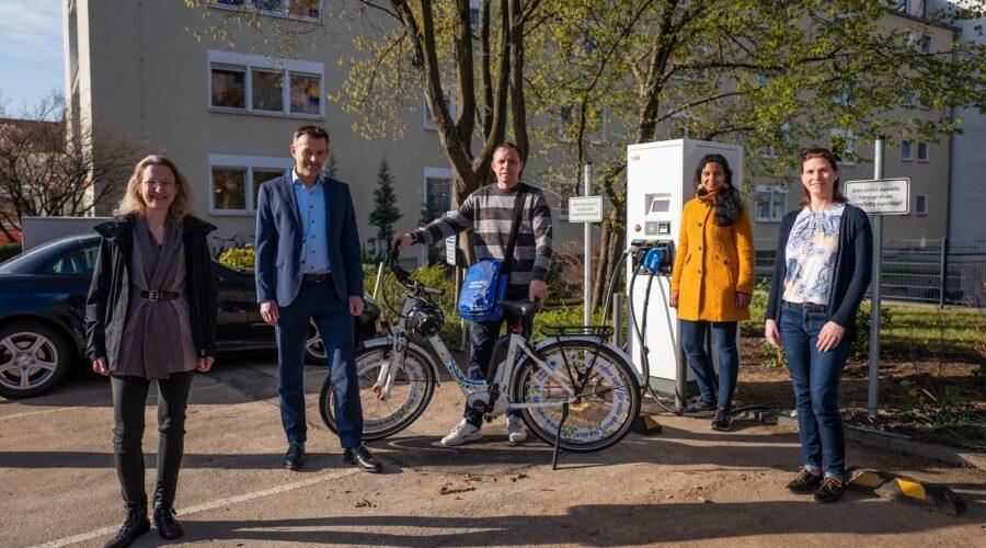 Heidelberg – Stadtwerke Heidelberg übergeben Pedelec an Krankenhaus Salem –  Krankenhaus macht sich neben Patientenschutz auch für Klimaschutz stark