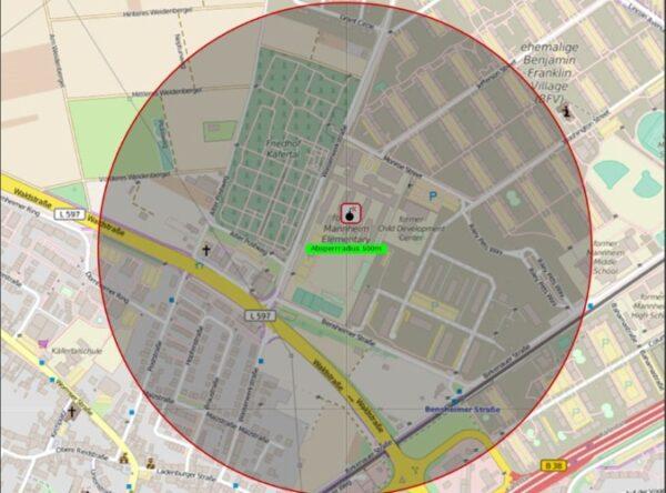 Mannheim – Käfertal – NACHTRAG – Fliegerbombe – Hinweise für Anwohner zur Evakuierung