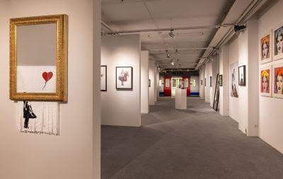 """Heidelberg – """"The Mystery of Banksy – A Genius Mind"""": Streetart-Ausstellung in der Halle02 vom 1. Mai bis 12. September"""