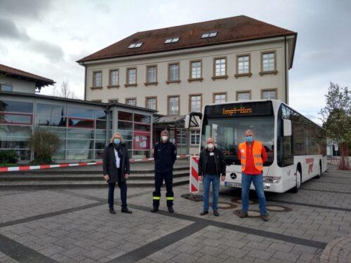 Dannstadt-Schauernheim – Erfolgreicher Impfbus-Start am 7. April in Dannstadt-Schauernheim