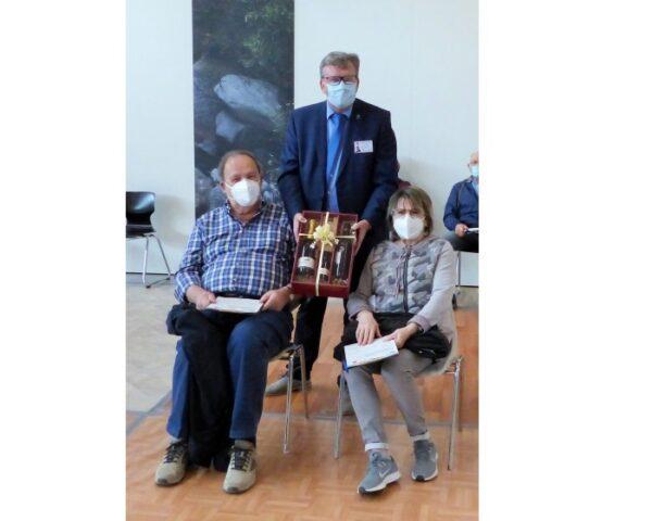 Rhein-Pfalz-Kreis –  Zusatzimpfung und 25.000. Impfung im Impfzentrum Schifferstadt