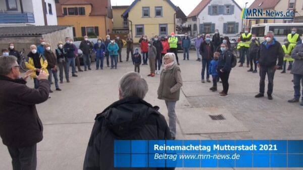 Rhein-Pfalz-Kreis – VIDEO NACHTRAG – Müllsammelaktion in Mutterstadt