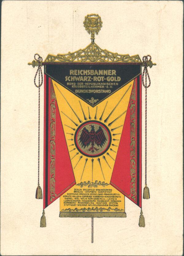"""Heidelberg – Sonderausstellung """"Für Freiheit und Republik! Das Reichsbanner Schwarz-Rot-Gold 1924 bis 1933"""" im Friedrich-Ebert-Haus vom 1. Mai bis 27. Juni"""
