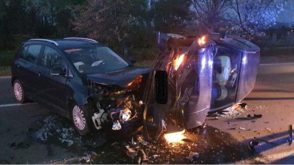 Bad Dürkheim – Schwerer Verkehrsunfall auf der B37
