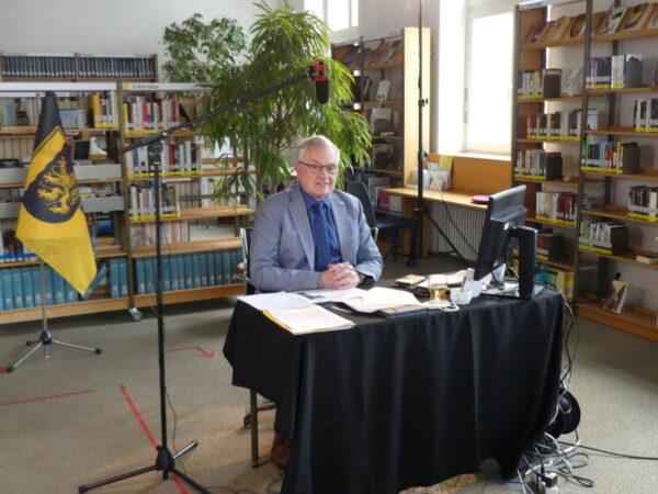 Kaiserslautern – Windkraft und B10-Ausbau im Pfälzerwald im Bezirkstag Pfalz –  lebhafte Diskussion  in Videokonferenz