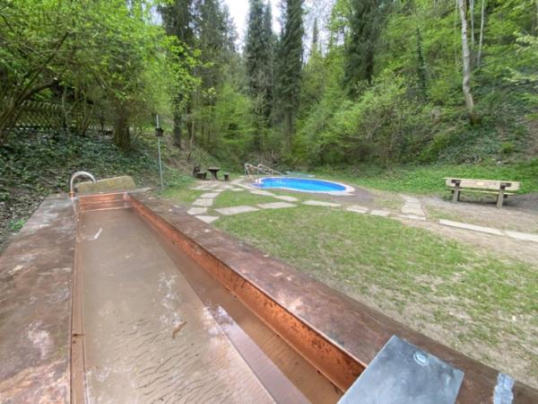 Weinheim – Kneippanlage steht parat – Bauarbeiten im Weinheimer Exotenwald sind abgeschlossen – Ankneippen vermutlich im Juni