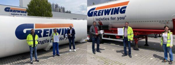 Ludwigshafen – Greven – Wesel – GREIWING ehrt Mitarbeiter für 30 Jahre Unternehmenstreue