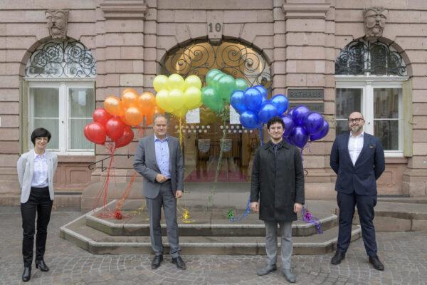 Heidelberg – Rainbow-City Heidelberg: Koordinationsstelle LSBTIQ+ nimmt Arbeit auf! Website und Newsletter informieren zukünftig über Angebote und Projekte