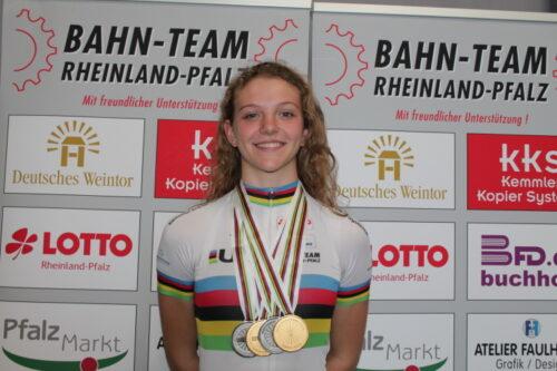 Dudenhofen – Albers und Pröpster vom Bahnrad-Team Rheinland-Pfalz qualifizieren sich für den Nationen Cup