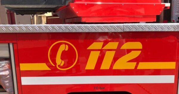 Mannheim –  Brennendes Fahrzeug nach Verkehrsunfall auf der A 656